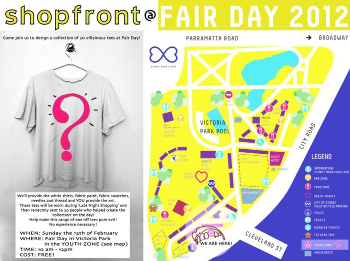 'Fair Day' Workshop eFlyer, 2012