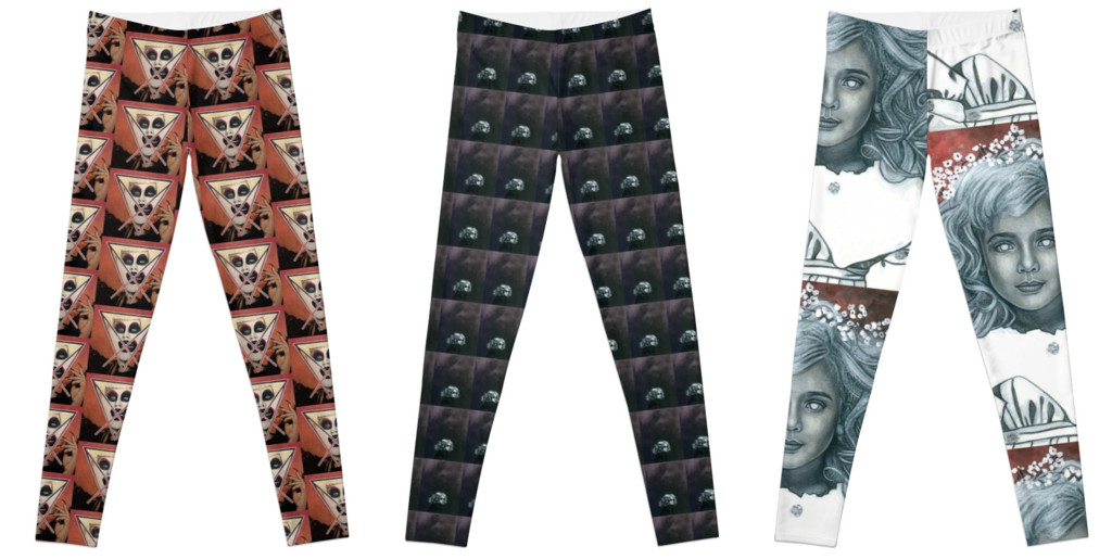 Tom Christophersen Creates Leggings.  Click image to purchase.