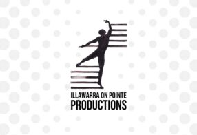 Illawarra On Pointe Productions Logo Design